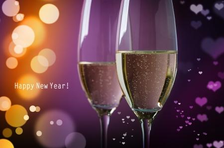 Happy New Year  Archivio Fotografico