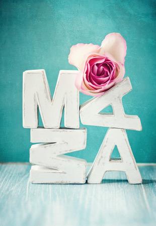 Mama wordings Stock Photo - 28077886