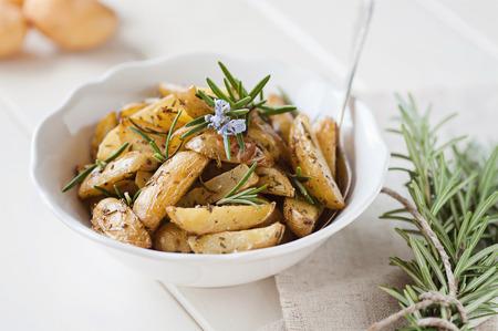 aardappelpartjes Stockfoto