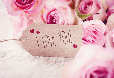 love you: Greeting Card Stock Photo