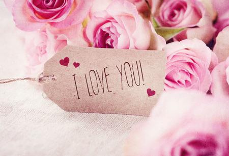 love card: Tarjetas de Felicitaci?n Foto de archivo