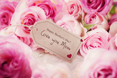 Pink Dream! Happy Mother\'s Day! Banque d'images