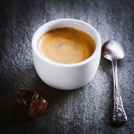 Espresso close-up Stock Photo