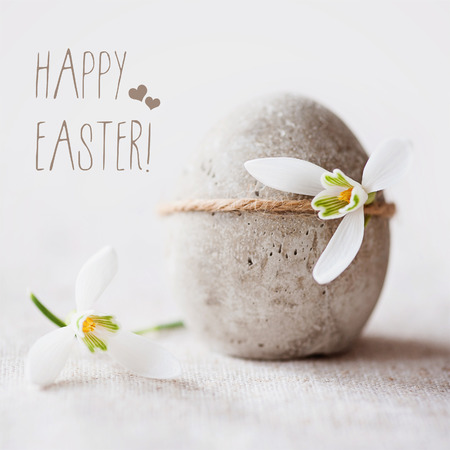 Concrete Easter greeting