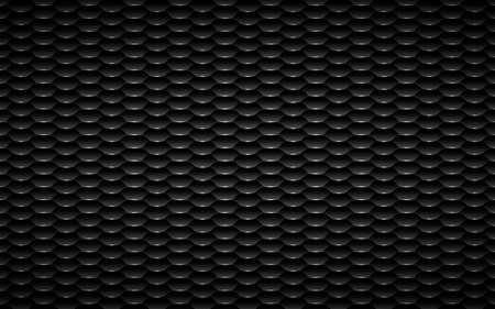 Hexagon lengthens vector photo