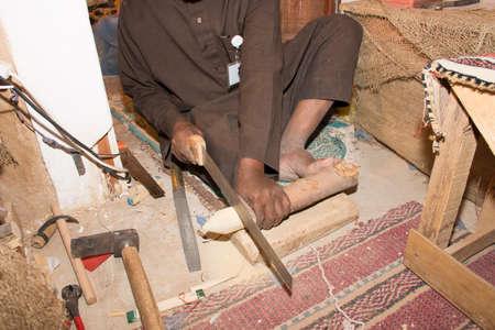 Saudi Arabia old crafted Stock Photo