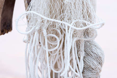 white fishing net Stock Photo - 104087810