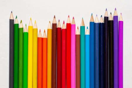 Color pencils, Close up, back to school, art pencils