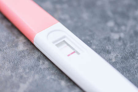 positive pregnancy test tool at home