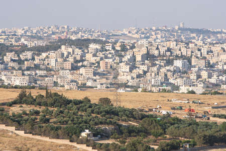 Amman city - Jordan, Amman, the capital of Jordan, is a houses city Stock Photo