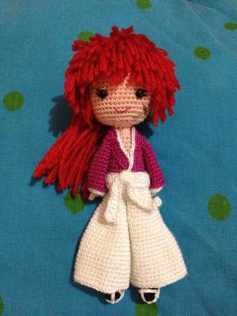 doll: amigurumi doll of kenshin