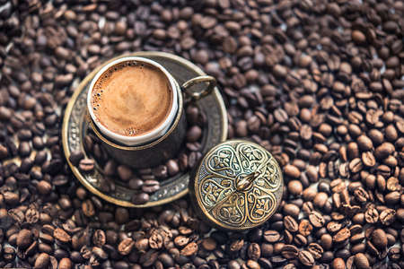 turkish coffee: Turkish Coffee and Coffee Beans