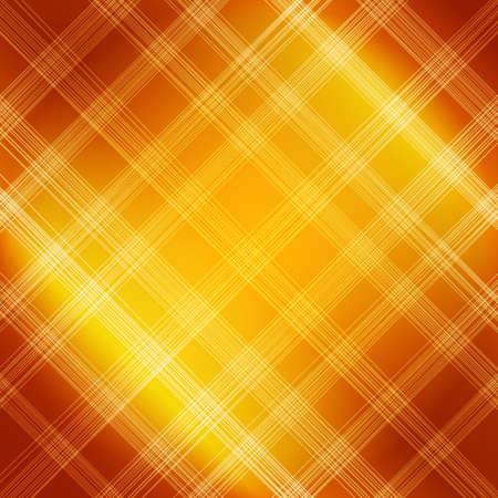 brushed: Bright orange textile background. Fabric canvas with striped pattern. Vector illustration for ecological design Illustration