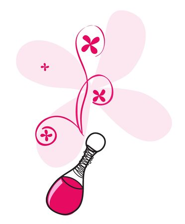 spray bottle: Perfume