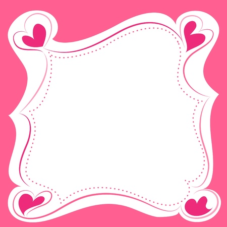 Sweet Frame Border Vector