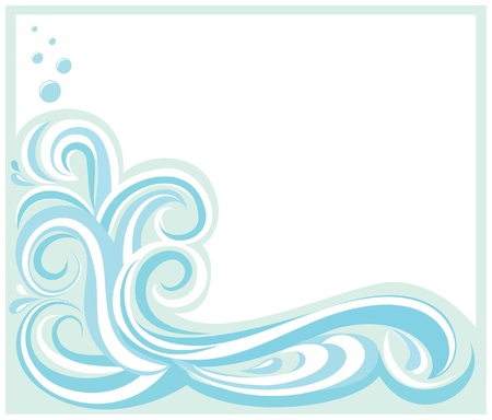 Wave FrameBorder Vector