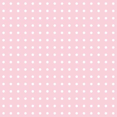 Oberflächenmusterdesign mit geometrischem Hintergrund mit kleinen Punkten und Kreisen in weißer und rosa Farbe. Ideal für Tapeten, Hintergründe, Verpackungen, Stoffe, Schrottbuchungen und Geschenkverpackungsprojekte.