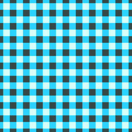 Seamless pattern background blue gingham texture. Stockfoto