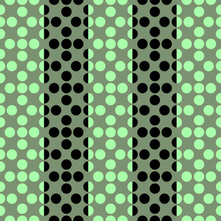 Seamless pattern of Stylized flowers Forming Vertical Stripes pf two different colors. Stok Fotoğraf