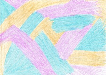The abstract background is depicted in three colors: lilac, blue, orange Reklamní fotografie