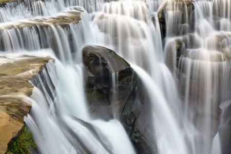 Part of the Shifen waterfalls