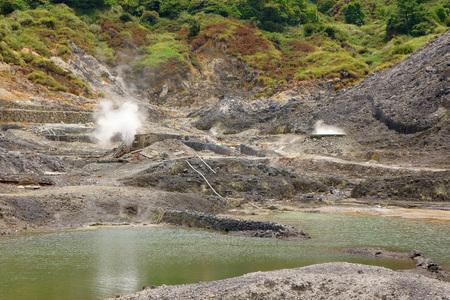 Sulfur Valley in Yangmingshan National Park