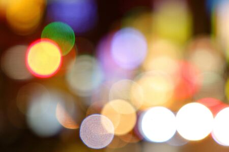 Background of the urban bokeh Stock Photo