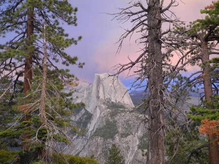 half dome: Half Dome in Yosemite Park, California, USA