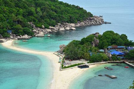 arena blanca: Para�so tropical - las islas, arena blanca, yates - vista a�rea