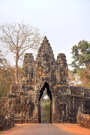mystique: Arch to the ancient city of Angkor