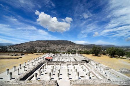 ancient civilization: Ruins of ancient Toltec civilization
