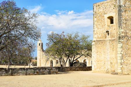 convento: View to Convento de Cuilapam in Oaxaca