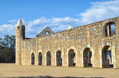 oaxaca: View to Convento de Cuilapam in Oaxaca