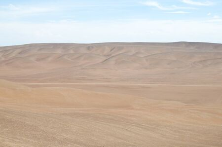 View to the desert - extreme nature landscape