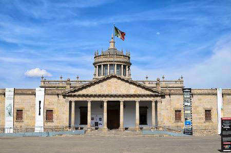 GUADALAJARA, MEXICO, MAY 17, 2016: View to Hospicio Cabañas in the downtown