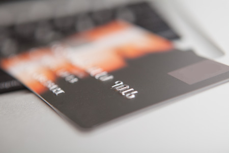 Credit Card for security online payment, e commerce photo