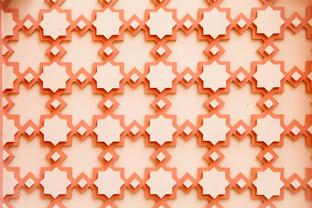 Texture of Spa Arabic tile Background photo