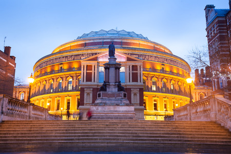 The Royal Albert Hall, Opera theater, in London, England, UK