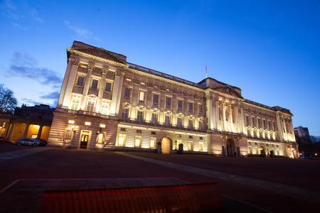 typically british: Buckingham Palace in London, England, UK