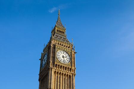 The Palace of Westminster Big Ben , London, England, UK photo