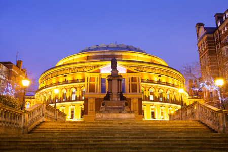 The Royal Albert Hall, Opera theater, in London, England, UK