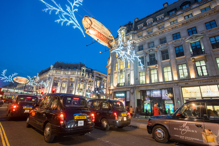 oxford street: LONDON, ENGLAND, Oxford street on sale season after Christmas. Editorial