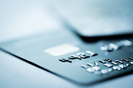 electronic card: Credit card online shopping payment