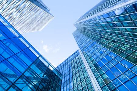 edificio corporativo: Oficina de Negocios, Edificio corporativo London City, Inglaterra Foto de archivo