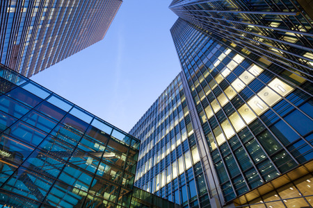 Business Office, Corporate building London City, England Banco de Imagens