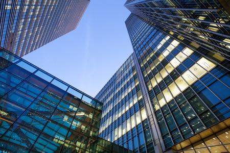 city: Oficina de Negocios, Edificio corporativo London City, Inglaterra Foto de archivo