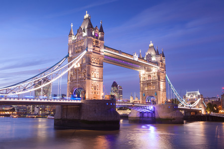 england: Tower Bridge, London, England