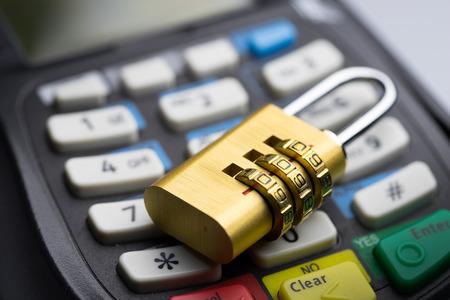 protect Credit & debit card password payment photo