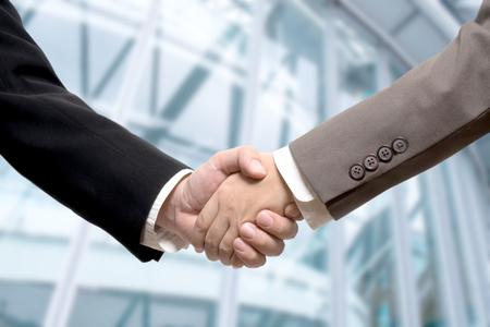 Handshake business: Business deal, handshake