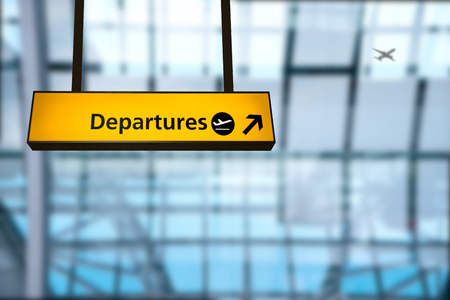 arrival departure board: Check in, Airport Departure & Arrival information board sign